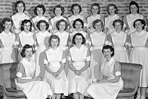 SRJC School of Nursing during World War II