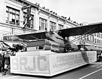 Historical photo of SRJC Aviation Program