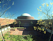 Historical photo of SRJC Planetarium