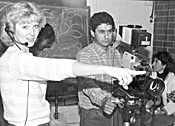 SRJC media class in the 1980s