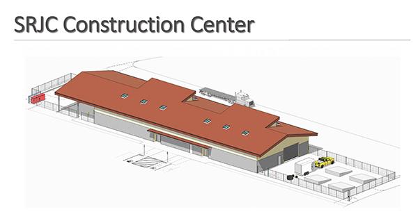 亚搏体育APP官网下载SRJC建筑中心效果图